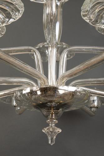 Lighting  - Lustre en verre soufflé, Tchécoslovaquie, 1930-40