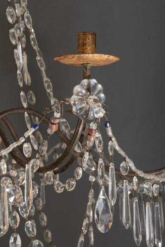 Lighting  - Genoese Chandelier, Italy Late 18th Century