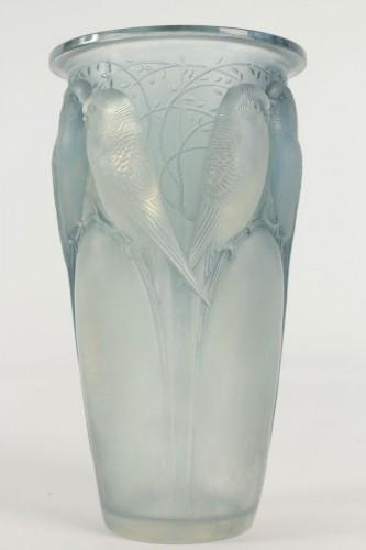 René LALIQUE  - Ceylan Opalescent Vase
