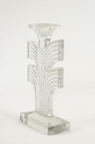 "René Lalique - Pair of Candlestick  ""Tokyo"" -"
