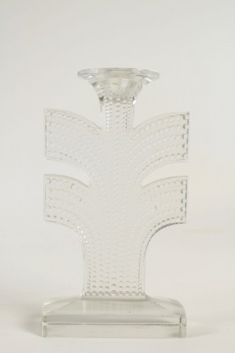 "20th century - René Lalique - Pair of Candlestick  ""Tokyo"""