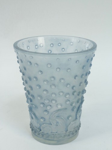 "Glass & Crystal  - René Lalique - ""Ajaccio"" Vase"