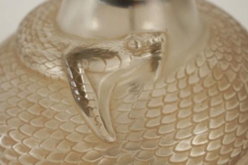 """René Lalique - Vase Serpent """"réflecteur"""" -"""