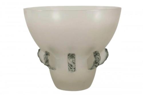 """René Lalique Vase"""" Carthage"""""""
