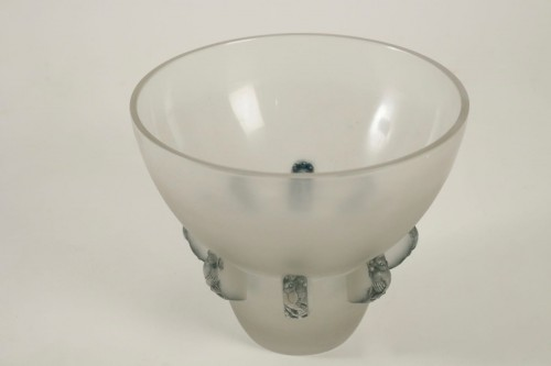 "René Lalique Vase"" Carthage"" - Glass & Crystal Style"