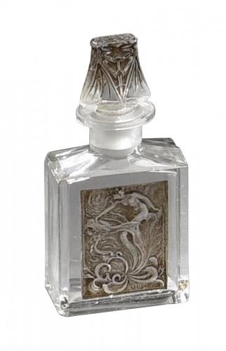 RENE LALIQUE (1860-1945) for COTY - perfume bottle «L'effleurt»