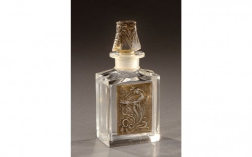 RENE LALIQUE (1860-1945) for COTY - perfume bottle «L'effleurt» - Glass & Crystal Style