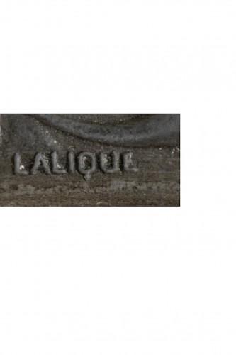 RENE LALIQUE (1860-1945) for COTY - perfume bottle «L'effleurt» -