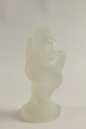 "20th century - René Lalique Car Mascot Opalescent"" Sirène"""