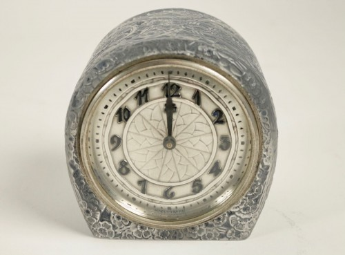 """- René Lalique & ATO -  Clock """"Eglantines"""""""