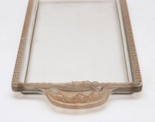 """20th century - René Lalique - """"Roses"""" Jardinière"""