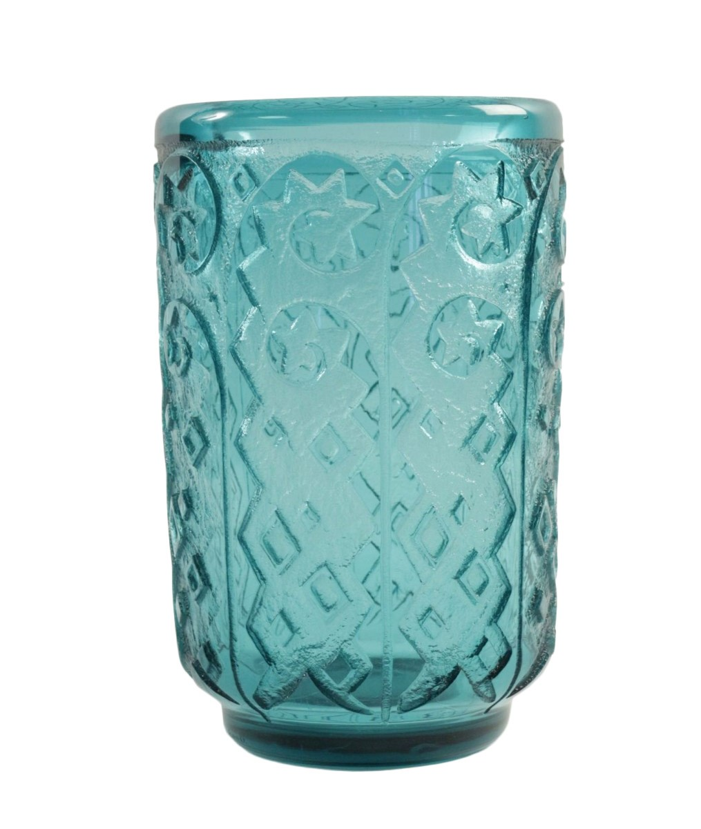 Sale The Deco Haus Tagged Blue: Daum Nancy Monumental And Thick Art Deco Vase