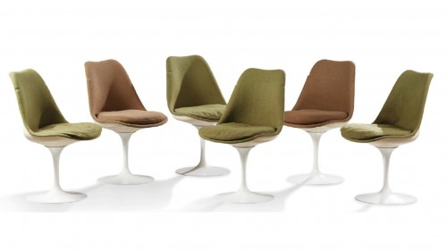 Set of 6 Tulip chairs - Eero Saarinen (1910-1961) & Knoll International