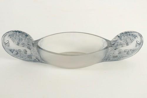 """Glass & Crystal  - René Lalique - Jardinière """"Saint Hubert"""""""