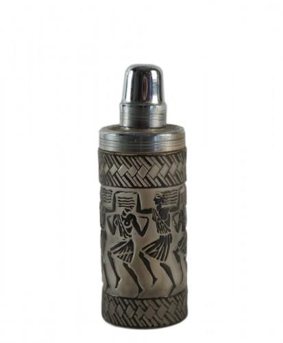 "Rene Lalique Perfume Burner ""Danseuses Egyptiennes"""