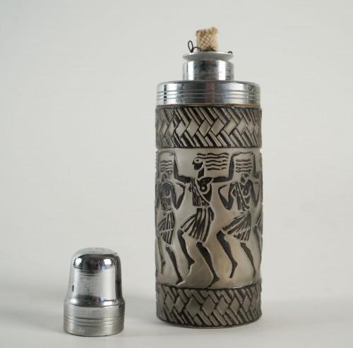 "Rene Lalique Perfume Burner ""Danseuses Egyptiennes"" -"