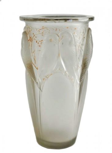 """René Lalique -  """"Ceylan""""Vase  said also """"Aux huit perruches"""""""
