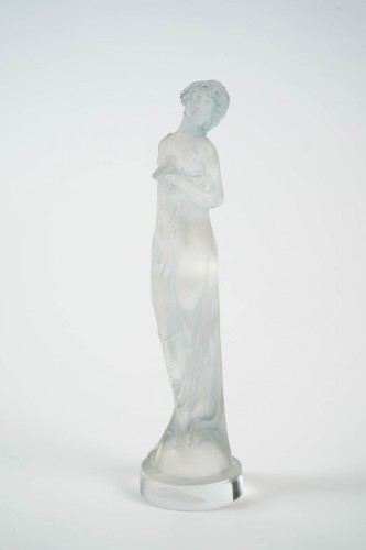 "R Lalique Statuette ""Moyenne Nue "" - Glass & Crystal Style"
