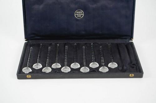 """R.Lalique - Swizzle Sticks """"Barr"""":10 pieces  -"""