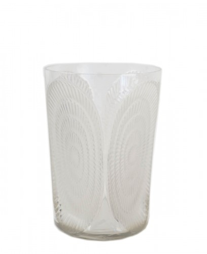 "Rene Lalique Vase ""Los Angeles"""