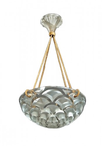 "René Lalique Suspension ""Rinceaux"""