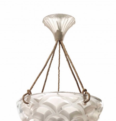 "Hanging lamp ""Rinceaux "" - René Lalique - Lighting Style"