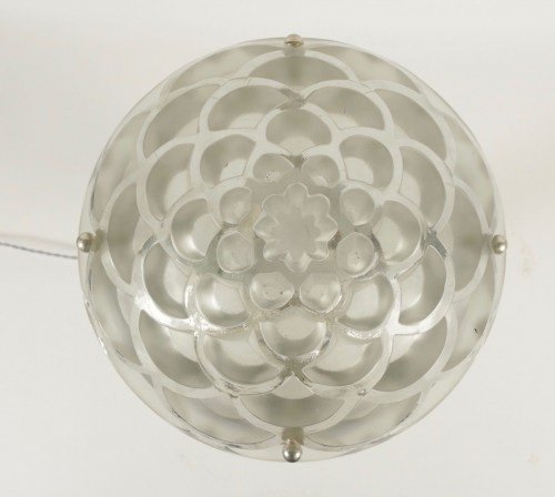 """Hanging lamp """"Rinceaux """" - René Lalique -"""