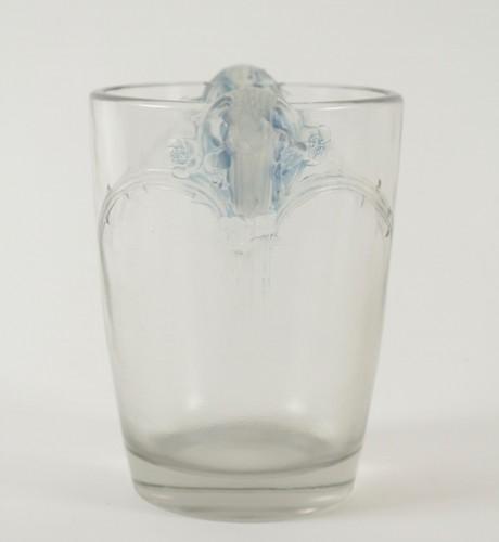 "René Lalique Vase ""Chamarandes"" - Glass & Crystal Style"