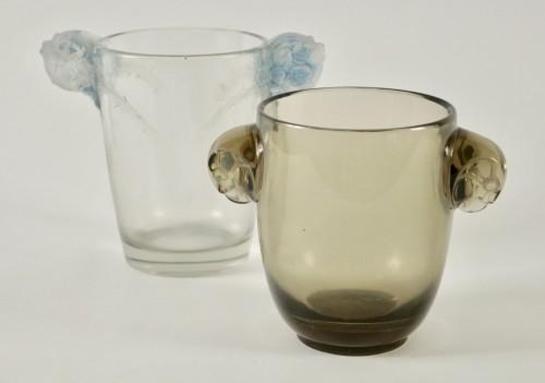 """Antiquités - René Lalique Vase """"Chamarandes"""""""