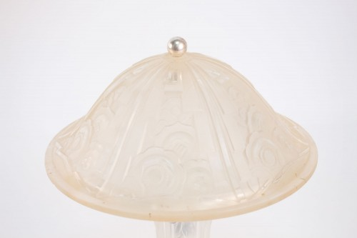 Lighting  - French Art Deco table lamp by Gênet et Michon
