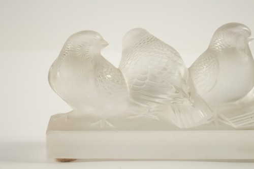 Rene Lalique - six birds - Glass & Crystal Style