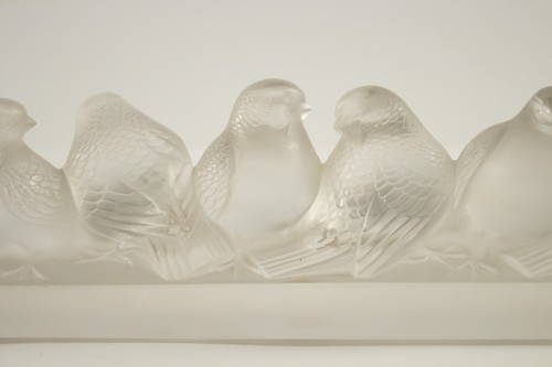 Glass & Crystal  - Rene Lalique - six birds