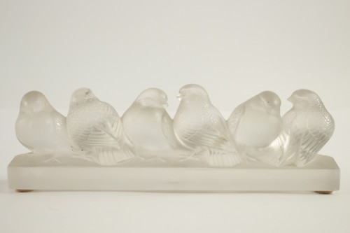 Rene Lalique - six birds -