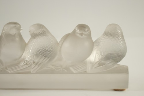 - Rene Lalique - six birds
