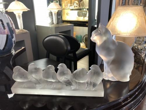 Antiquités - Rene Lalique - six birds