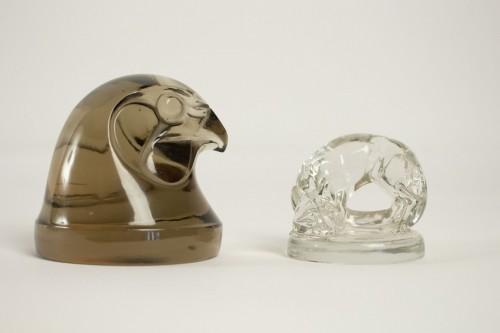 """Antiquités - Rene Lalique Car Mascot """" Tete D'Epervier """""""