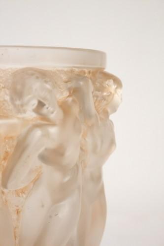 "René lalique Vase ""Bacchantes""  - Glass & Crystal Style"