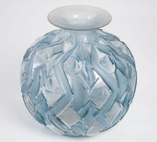 """René Lalique Vase """"Penthièvre"""" - Glass & Crystal Style"""