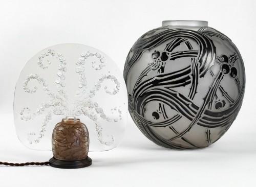 """Antiquités - René Lalique - Night light """"Véronique"""""""