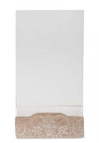 "Rene Lalique - Menu Holder"" Faune"""