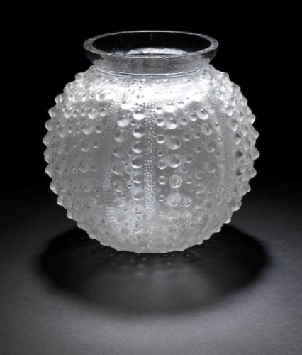 René LALIQUE - Vase «Oursin» - Alexia Say