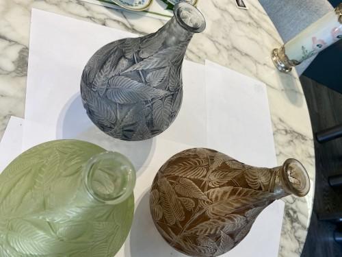 """René LALIQUE - """"Sauge"""" glass vase 1923 -"""