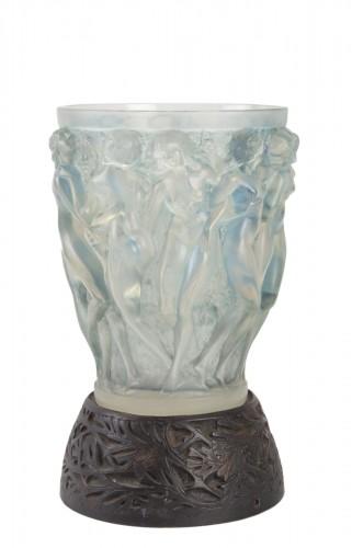 RENE LALIQUE (1860-1945) - Bacchantes vase