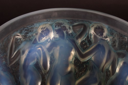 Glass & Crystal  - RENE LALIQUE (1860-1945) - Bacchantes vase