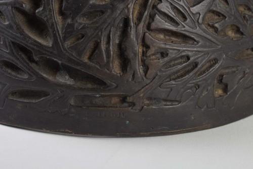 RENE LALIQUE (1860-1945) - Bacchantes vase -