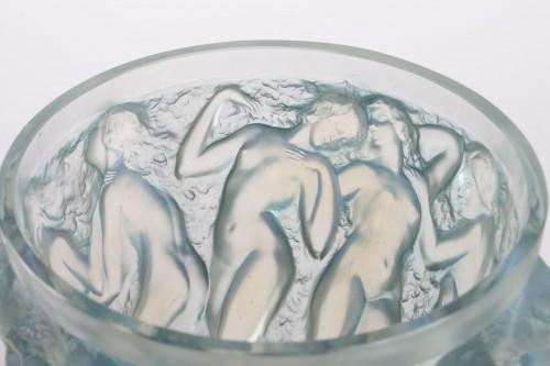 Antiquités - RENE LALIQUE (1860-1945) - Bacchantes vase