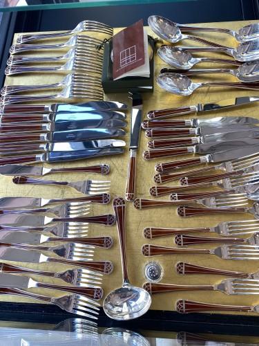 """Talisman "" silverware Christofle - Antique Silver Style"