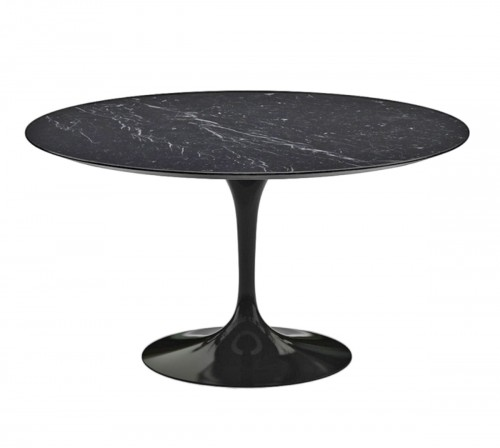 "KNOLL & Eero Saarinen -  table ""Tulip"" Marquina"
