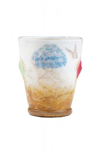 "Daum Nancy -   ""Hydrangeas"" Vase"