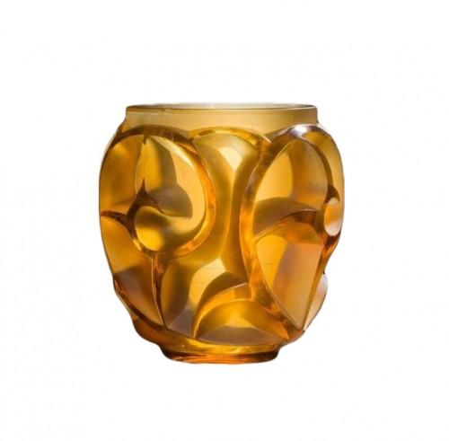 """René Lalique (1860-1945) - Vase """"Tourbillons"""""""